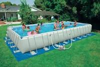 Цена и размеры каркасных бассейнов
