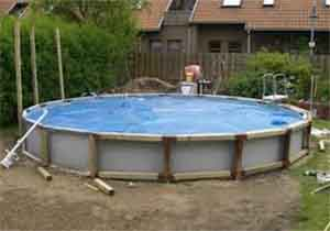 Строим пластиковый бассейн своими руками