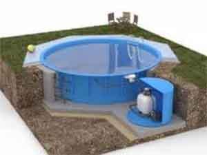 Как самостоятельно установить бассейн