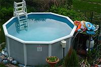 Каркасный бассейн на участке