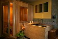сауна в ванной комнате фото