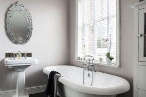 черно белая ванная фото 11