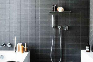 черно белая ванная фото 17