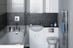 черно белая ванная фото 24