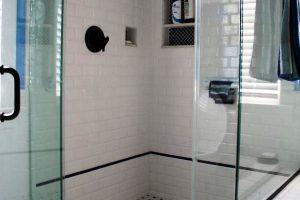 черно белая ванная фото 29