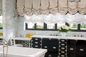 черно белая ванная фото 30