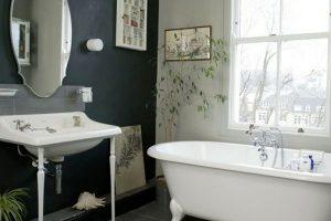черно белая ванная фото 31