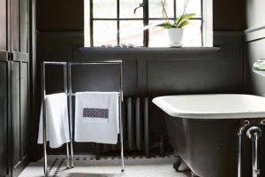 черно белая ванная фото 37