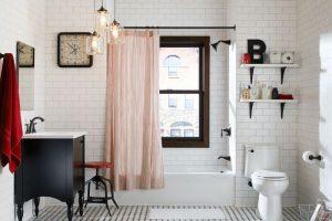 черно белая ванная фото 42