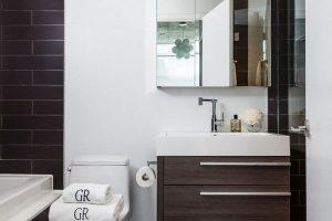 черно белая ванная фото 44