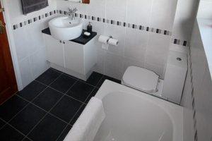 черно белая ванная фото 5
