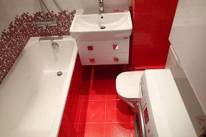 дизайн маленькой ванной комнаты и туалета фото