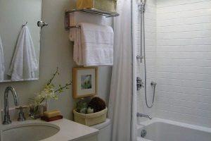дизайн малогабаритных ванных комнат фото 11