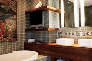 дизайн малогабаритных ванных комнат фото 13