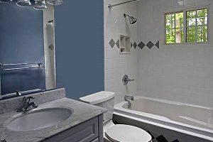 дизайн малогабаритных ванных комнат фото 27