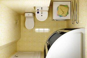 дизайн малогабаритных ванных комнат фото 5