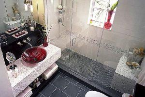 дизайн малогабаритных ванных комнат фото 6