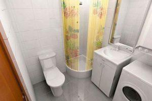 ванная комната в хрущевке фото 12