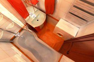 ванная комната в хрущевке фото 15