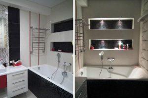 ванная комната в хрущевке фото 17