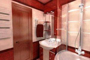 ванная комната в хрущевке фото 18