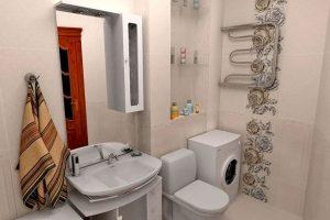 ванная комната в хрущевке фото 21