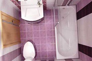 ванная комната в хрущевке фото 3
