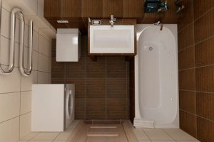 ванная комната в хрущевке фото 31