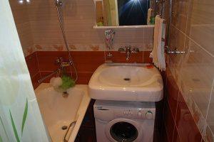 ванная комната в хрущевке фото 36