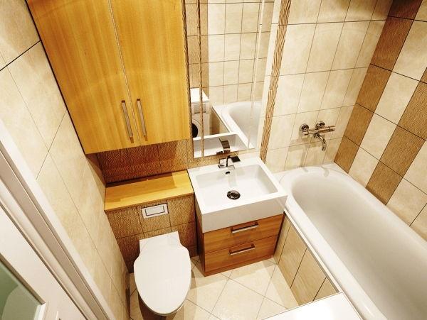совмещенные ванна и туалет в хрущевке фото