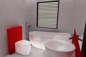 фото ванной комнаты и туалета маленького размера