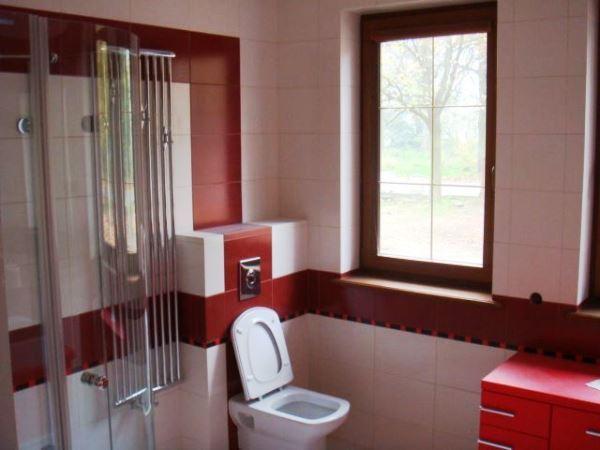 интерьер ванной комнаты и туалета в квартире фото