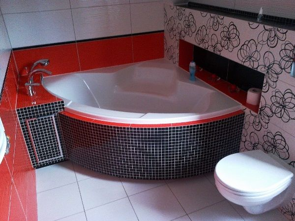 интерьер ванной комнаты маленького размера фото