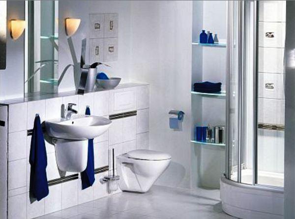 как обустроить маленькую ванную комнату фото