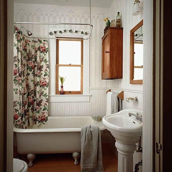 как обустроить ванную комнату маленького размера фото
