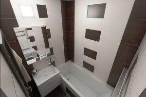 маленькая ванная комната 3 кв метра дизайн фото 29