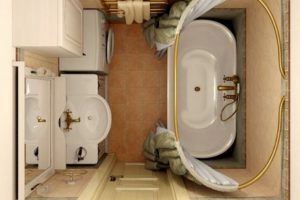 маленькая ванная комната 3 кв метра дизайн фото 32