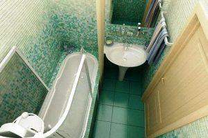 маленькая ванная комната 3 кв метра дизайн фото 7