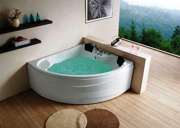 полукруглые ванны фото