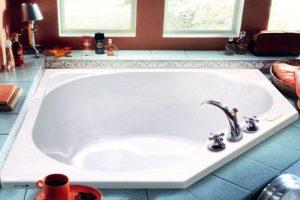 угловая ванна фото 36