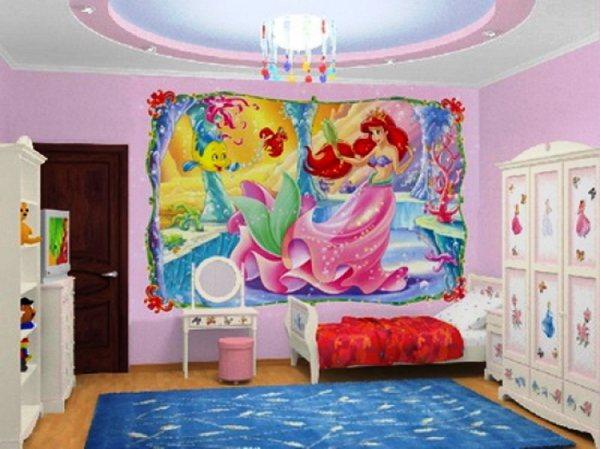 детская спальня для девочек фото 6