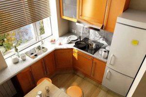 дизайн кухни 5 кв.м в хрущевке фото 22