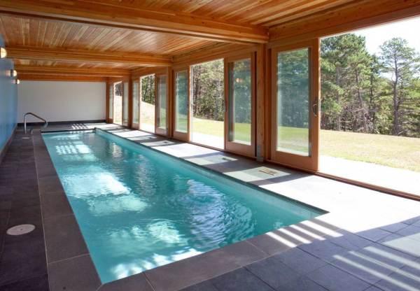 дизайн бассейна в частном доме фото 10