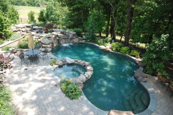 дизайн бассейна в частном доме фото 15