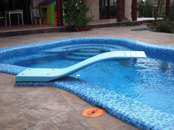 дизайн бассейна в частном доме фото 8