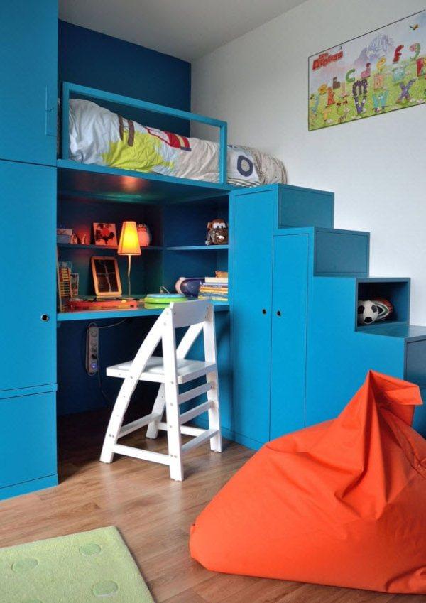 дизайн детской комнаты для маленького мальчика фото
