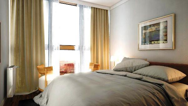 дизайн небольшой спальни фото