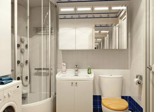 дизайн ванной комнаты фото 3 кв м с туалетом и стиральной машиной фото