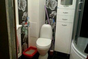 дизайн ванной с туалетом 3 кв.м фото 10