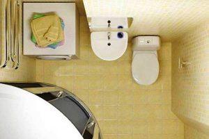 дизайн ванной с туалетом 3 кв.м фото 12